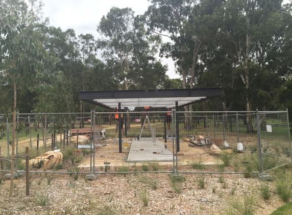 Parramatta Shelters Install