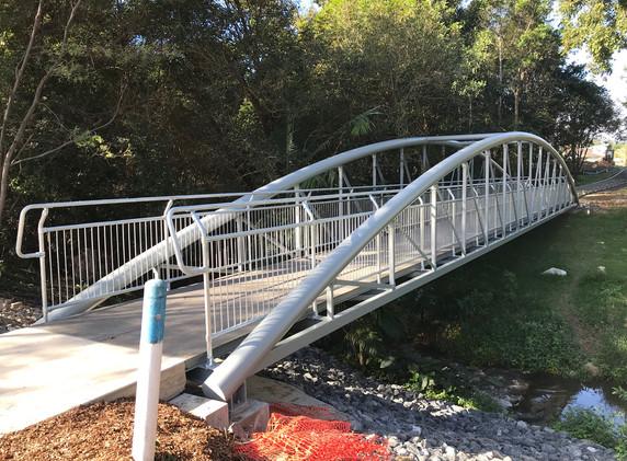 Hepburn Springs Pedestrian Bridge