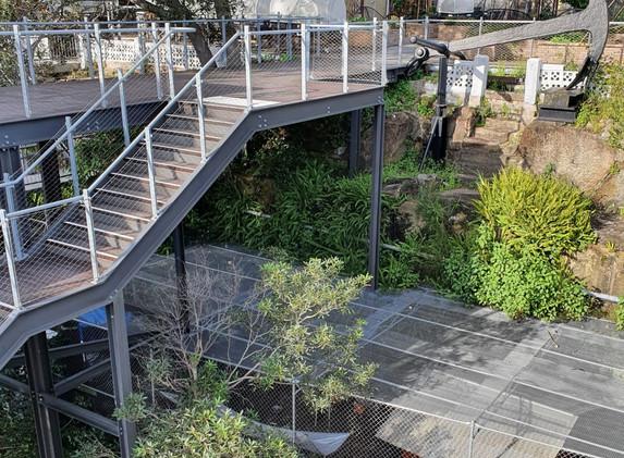 Waverton Coal Loader Stairs