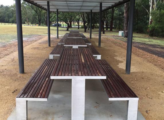 Parramatta Park Picnic Seating