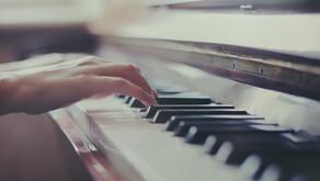 Remove noise from video-recorded piano recitals