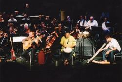 Voyages Orchestra with Fagan, Raju Sharma, Kevin Atkinson