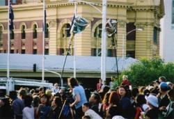Federation Square Australia Day 9