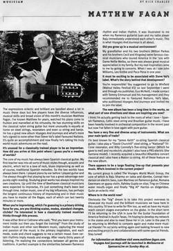 Matt Fagan Interview
