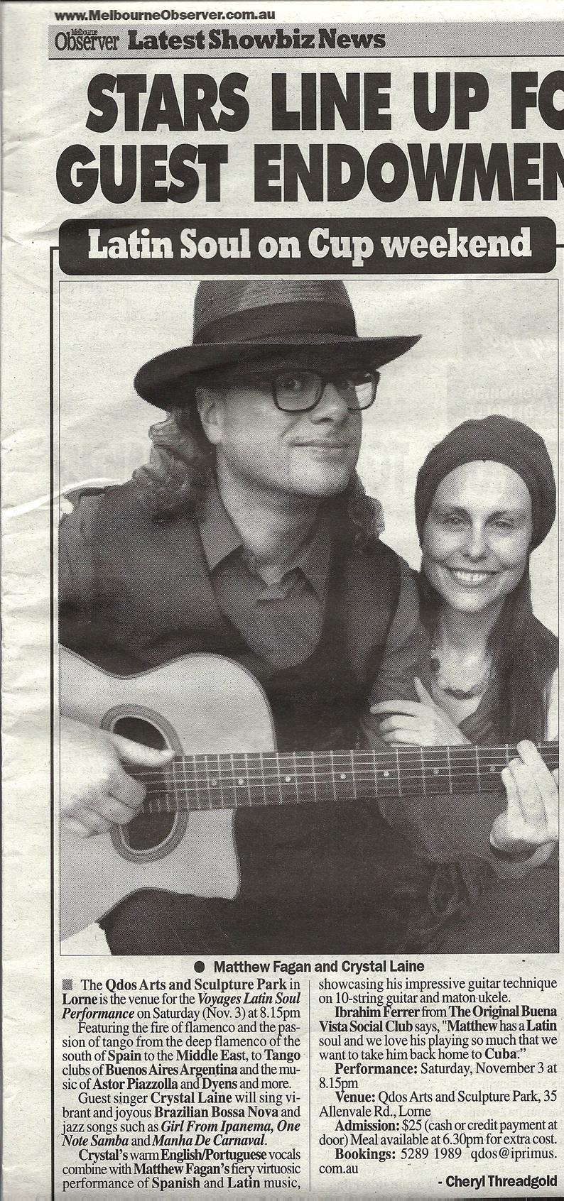 The Melbourne Observer