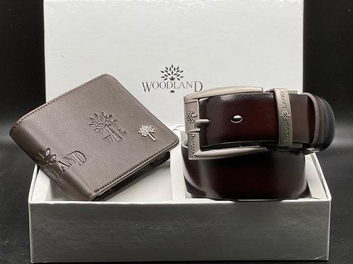 Woodland belt and wallet