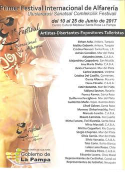 1er Festival de Alfareria