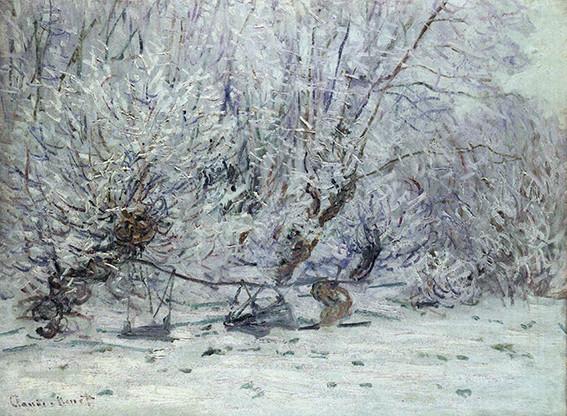 Geada. Claude Monet, 1885