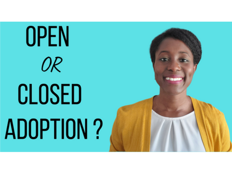 Open vs. closed adoption: which to choose
