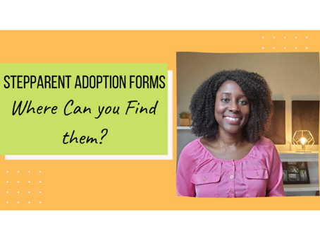 Stepparent Adoption Forms: Where Can You Find Them?