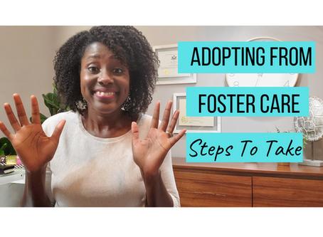 Foster Care Adoption Steps