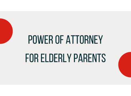 Power Of Attorney For Elderly Parents