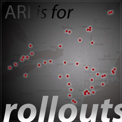Multiple-location Rollouts