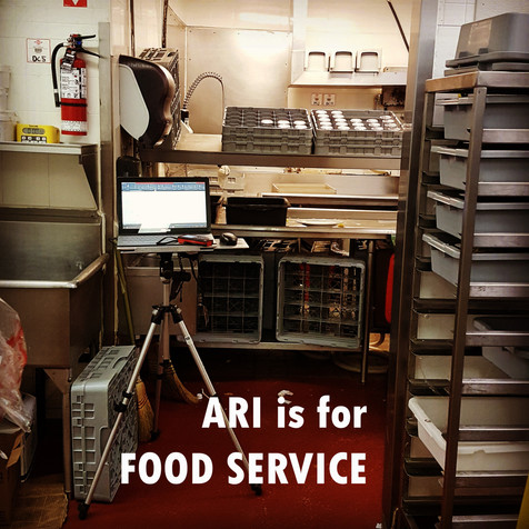 As-Built and Audit Support for Food Service