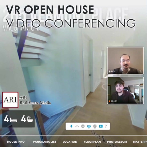 VR Open House Video Conferencing
