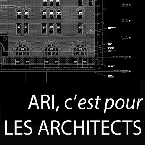 Solutions d'enquête pour les Architectes, tel que construit