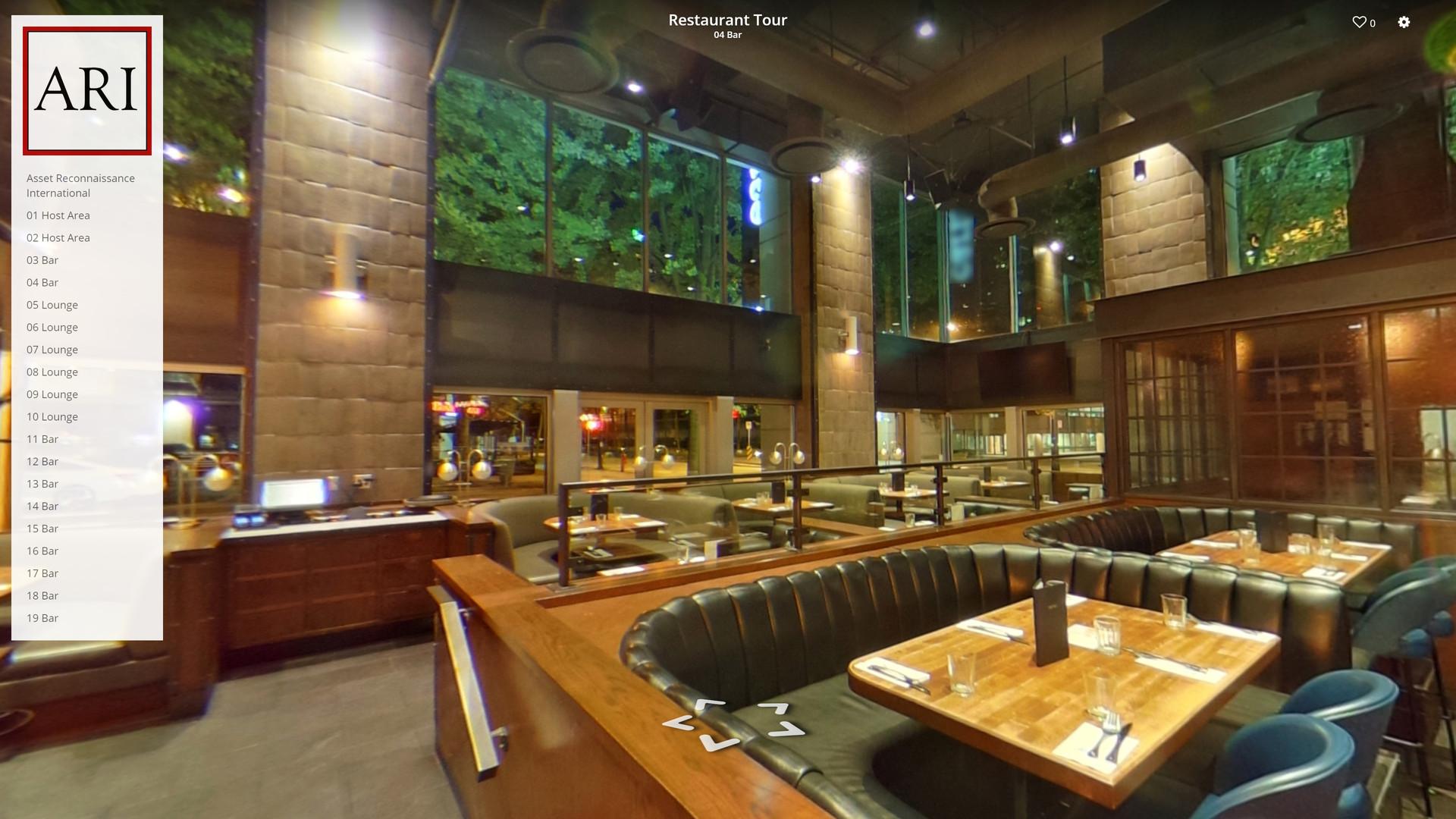 Example Restaurant Tour