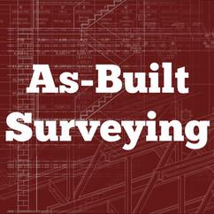 As-Built Surveying