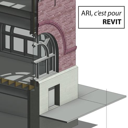 Arpentage Revit 3D