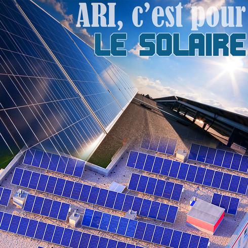 Relevés sur les toits pour l'installation solaire, tel que construit