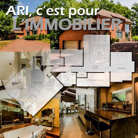 Arpentage immobilier et photographie