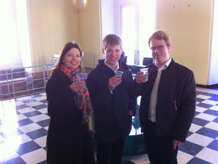 Kristian Riisager starter studier i Berlin