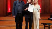 Gustav Piekut, tidligere Gradus elev, vinder pris i stor musikfestival