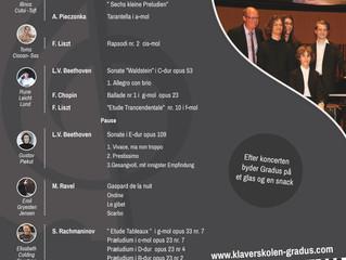 Se programmet til åbningskoncerten 10. november