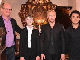 Gradus-koncert i Skarresø blev modtaget flot