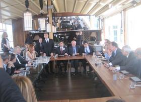 Belediye Başkanı Sayın Murat Hazinedar'la Buluşma 2014