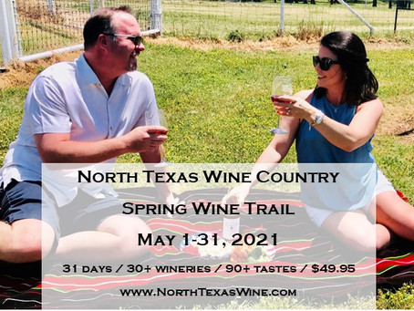 Hellooooo Spring in North Texas Wine Country!