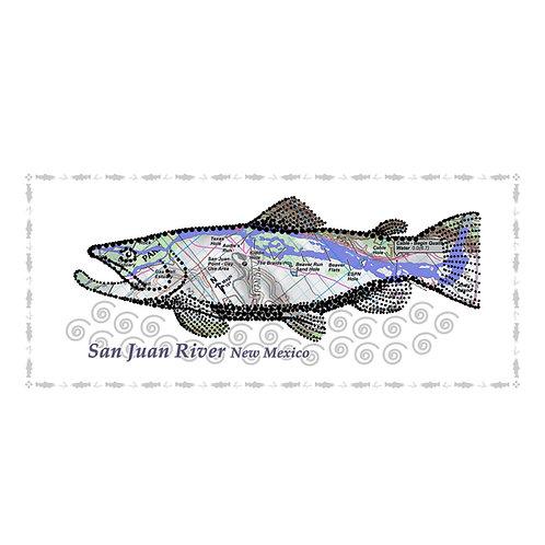 San Juan River Fish Poster