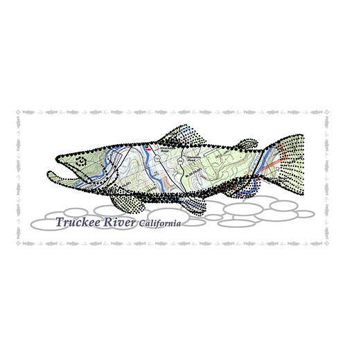 Truckee River Fish Poster