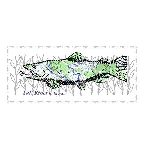 Fall River Fish Poster