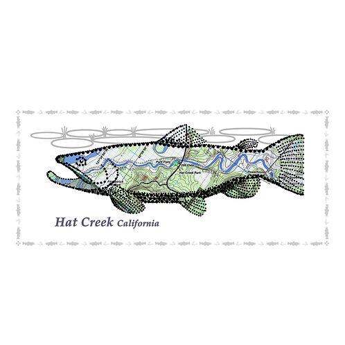 Hat Creek Fish Poster