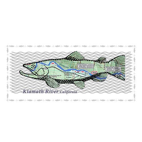 Klamath River Fish Poster