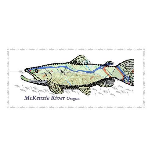McKenzie River Fish Poster