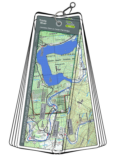 Trinity - Lewiston Dam to Cedar Flat Bridge