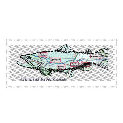 Arkansas River Fish Poster