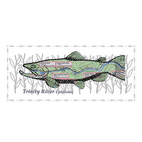Trinity River Fish Poster