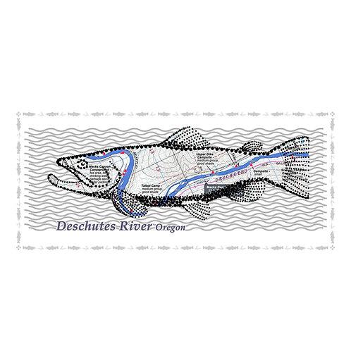 Deschutes River fish poster