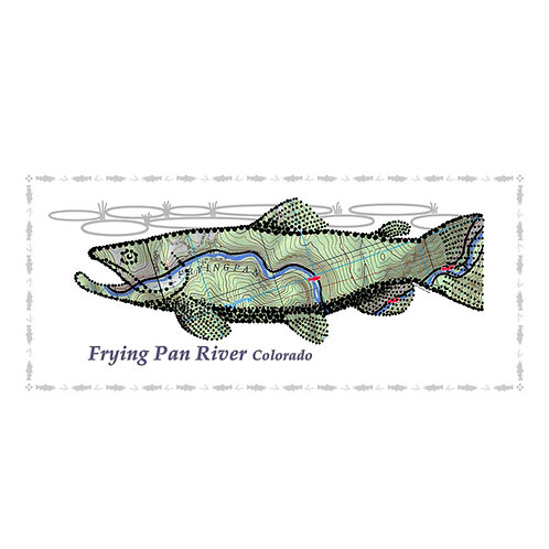 Frying Pan River Fish Poster