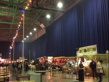 Foodtruck festival in Ahoy
