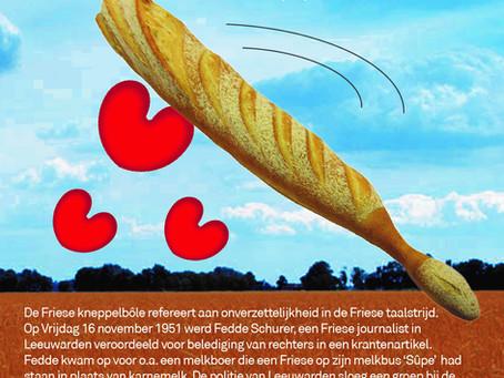 Friese eetcultuur en Friese taal