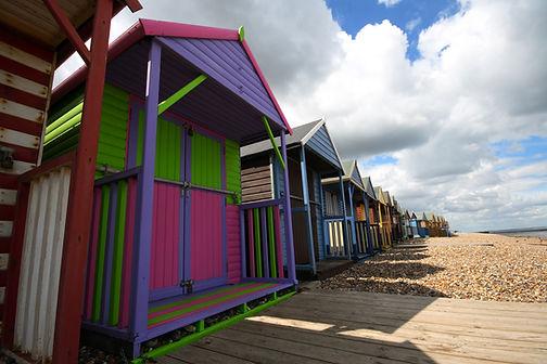 Beach Huts in Herne Bay