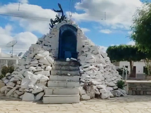 STA Mª DA B VISTA: Capela de Nossa Senhora de Lourdes é alvo de vandalismo e roubo