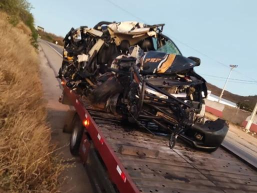 Policial Rodoviário Federal morre em acidente envolvendo animal e caminhão na BR-316 em Bodocó