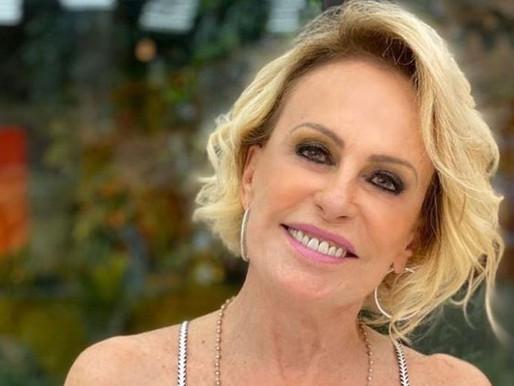 Mesmo vacinada, Ana Maria Braga testa positivo para Covid-19
