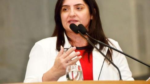 Deputada Dulci segue na expectativa da queda do veto que nega distribuição de absorventes no Brasil