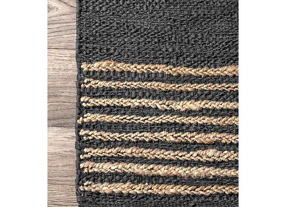 Kelli Leather & Jute Rug - CJAB01A